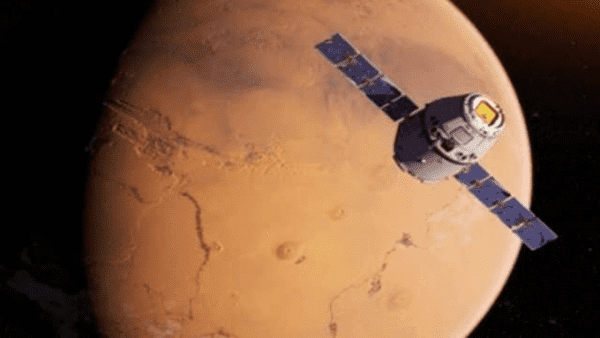 Sonda china enviada a Marte supera 100 millones de kilómetros
