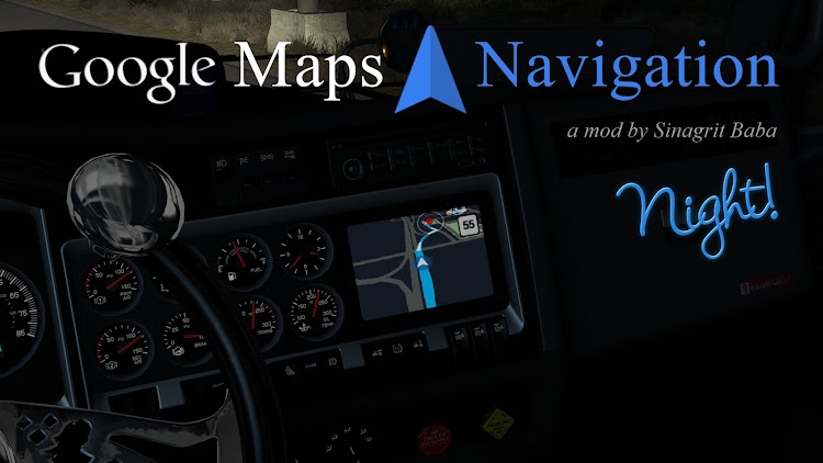 cover ats google maps navigation night version