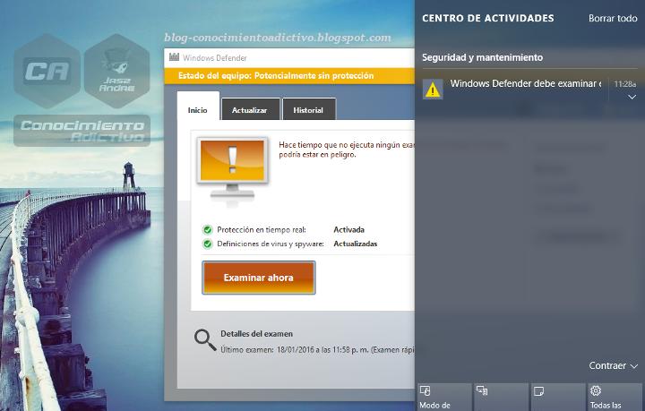 Windows Defender: Potencialmente sin protección, ¿Te aparece este mensaje una y otra vez?