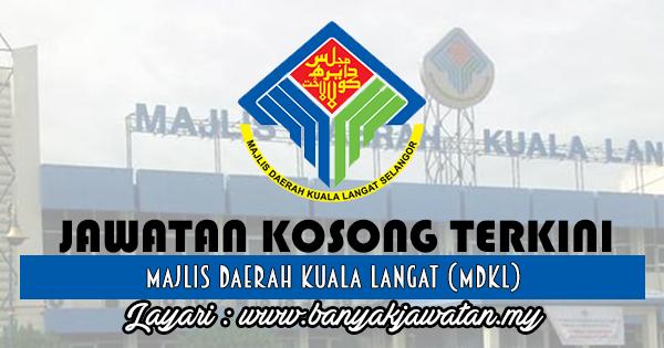 Jawatan Kosong 2017 di Majlis Daerah Kuala Langat (MDKL) www.banyakjawatan.my