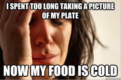 The Woes of a Food Blogger