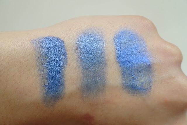 beztalkowe cienie glamshadows - królewski niebieski