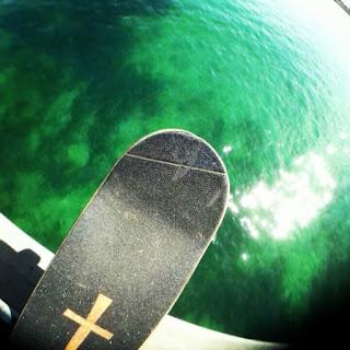 Mark Jansen Skateboarding Adelaide Glenelg Brighton Beach
