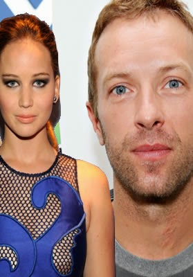 Jennifer Lawrence y Chris Martin alegadamente estan de novios