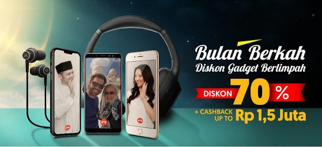 #Bhinneka - #Promo Diskon 70% Gadget di Bulan Berkah (s.d 31 Mei 2019)