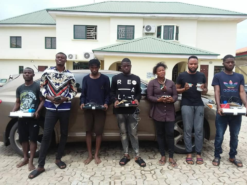 EFCC Release Names of 7 Suspected Internet Fraudsters  Arrested in Kaduna
