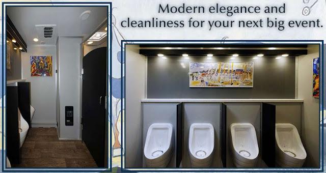 Restroom Trailer Men's Urinals