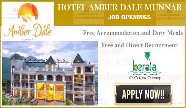 hotel jobs munnar 2020, hotel jobs in munnar
