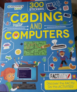 Discovery Kids Factivity Coding and Computers  cover