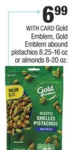 Gold Emblem, Gold Emblem Abound Pistachios