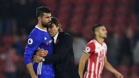Dù đã trở về Atletico Madrid nhưng Diego Costa vẫn chưa hết hận Antonio Conte