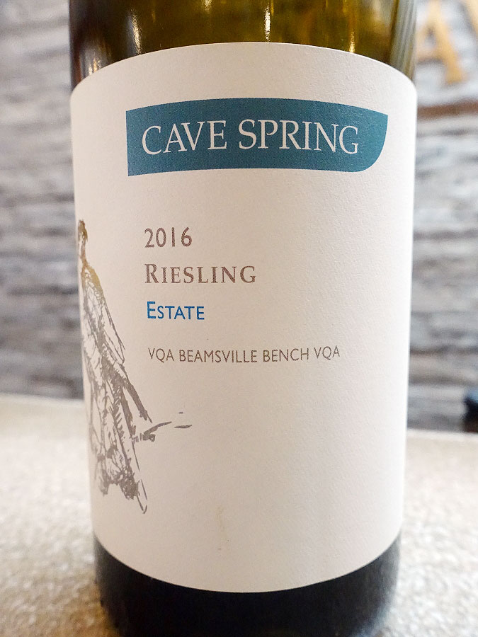 Cave Spring Estate Riesling 2016 (89 pts)