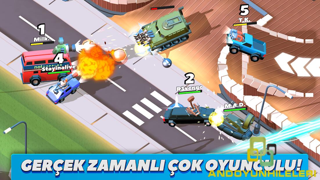 Crash of Cars v1.3.08 Para Hileli