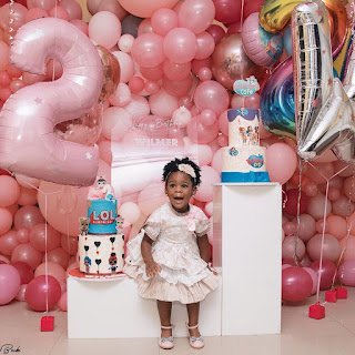 Patoranking Celebrates His Daughter, Wilmer With Beautiful Photos As She Turns 2-Year-Old