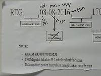 Antrian BPJS di RSK Dharmais bisa dengan SMS