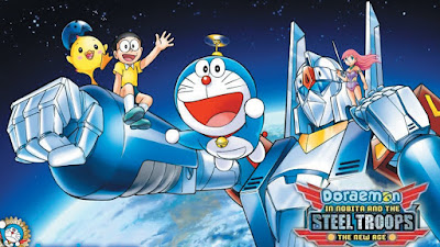 DORAEMON IN NOBITA AND THE STEEL TROOPS-THE NEW AGE movie download in Hindi for free