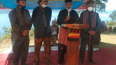 Terkait Penyelesaian Batas Wilayah, Tiga Nagari di Salingka Danau Gelar Sumpah Sati Guguak Samain