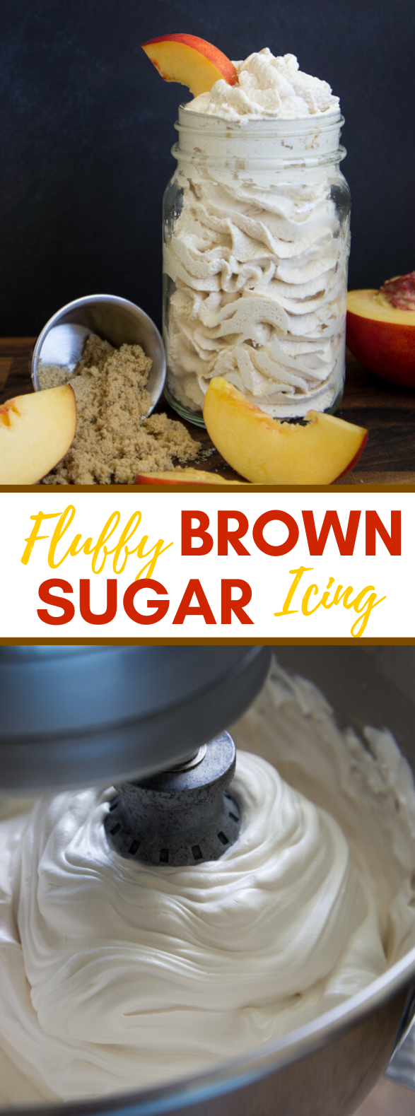 Fluffy Brown Sugar Icing {Pat's Recipes} #desserts #cream