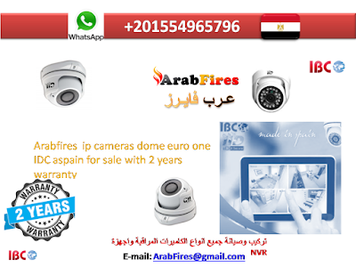 Arabfires  ip cameras dome euro one IDC aspain for sale with 2 years warranty