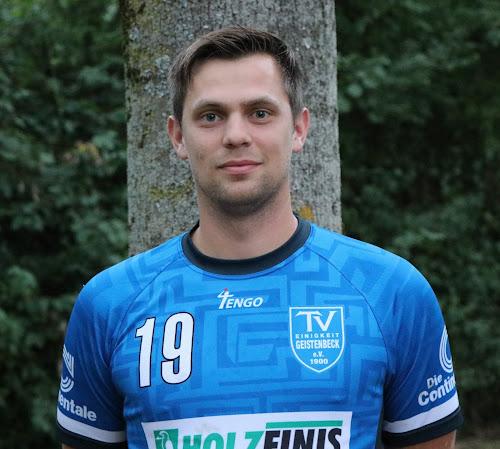 Jens Hermanns (dienstältester Spieler des TVG) erzielte 6 Treffer gegen Adler Königshof zum Saisonauftakt