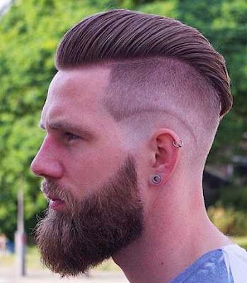 Model rambut undercut dengan 2 layer_988754