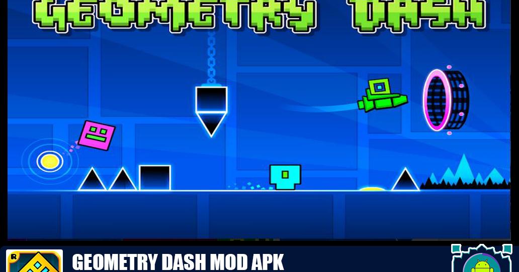 Download Geometry Dash Mod Apk 2.111 [All Unlocked Full Version 2020] - APKMODPro