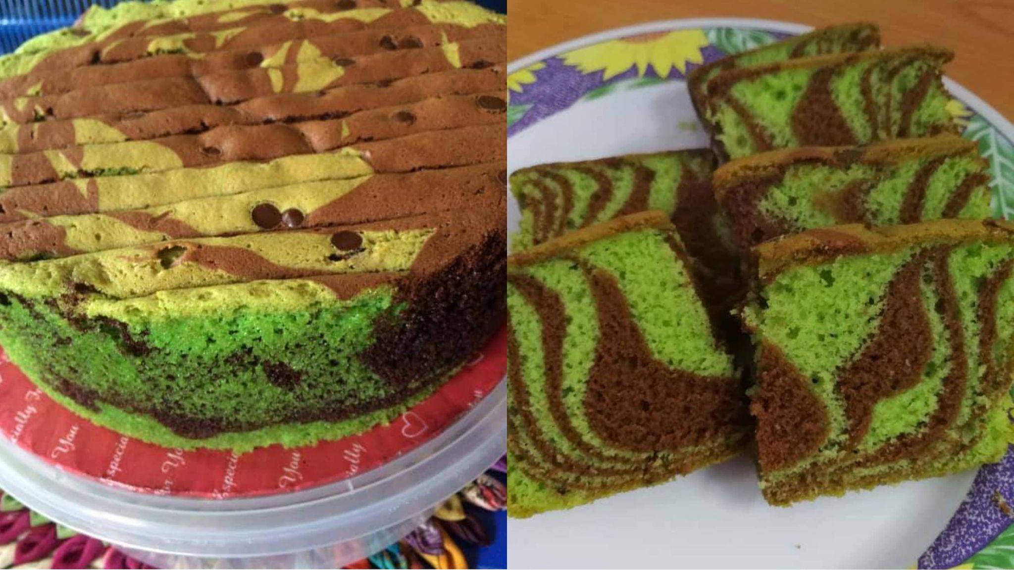Resepi kek minyak gebu dan senang