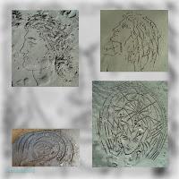 Αμμογραφίες Κώστα Ευαγγελάτου