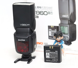 Flash Godox Ving V860 Mark II F ( for fujifilm )