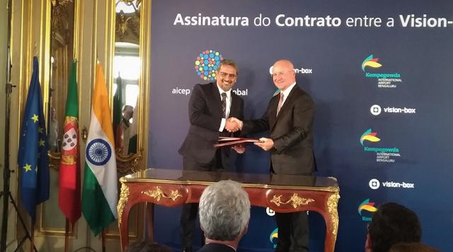 Portuguesa Vision-Box fecha contrato com Aeroporto de Bangalore na Índia