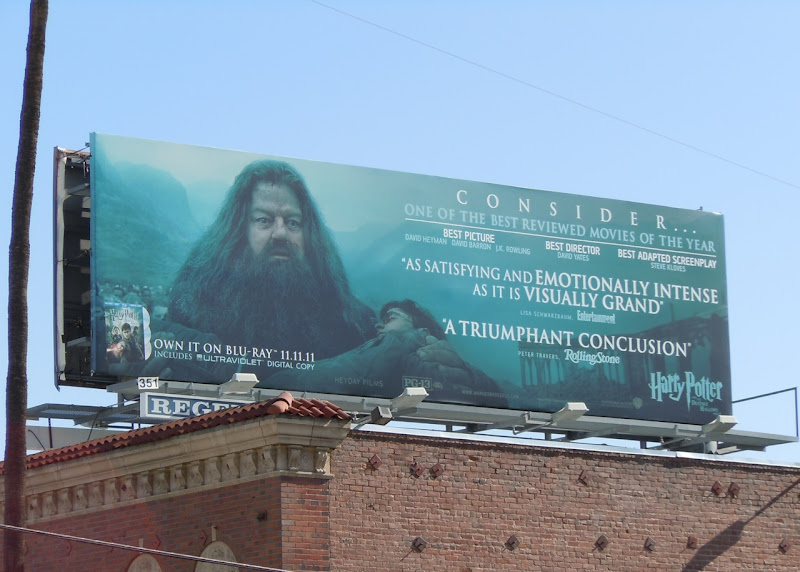 Hagrid Harry Potter movie billboard