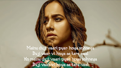 Duji Vaar Pyar Song Lyrics (English) | Sunanda Sharma | Sukh-E | Jaani | Arvindr K | Mad 4 Music