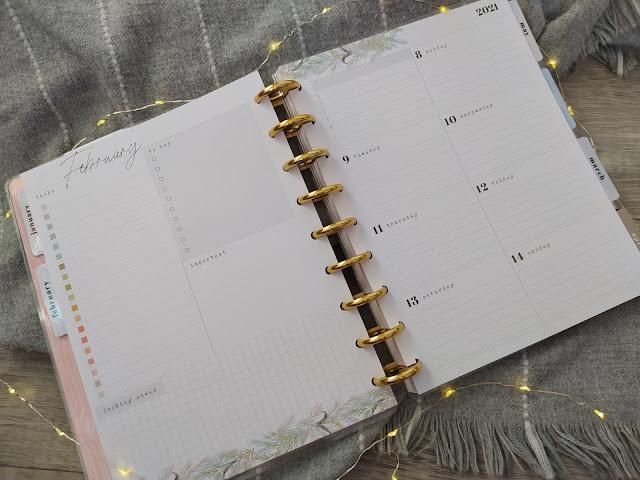 2021 Homebody Seasons Deluxe Classic Dashboard Happy Planner®  2021 - Mon Planner