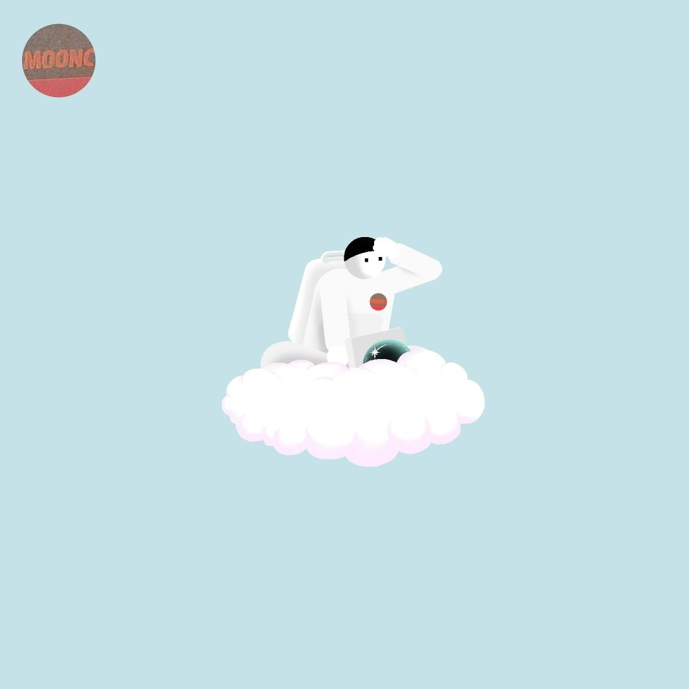 moonc – powder pink – Single