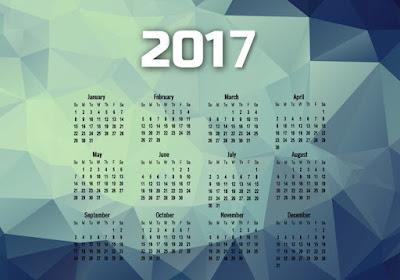 free 2017 desktop calendar