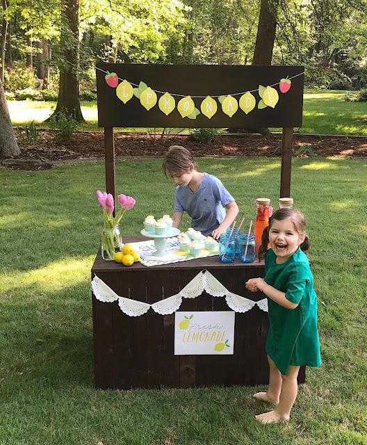 kids lemonade stand