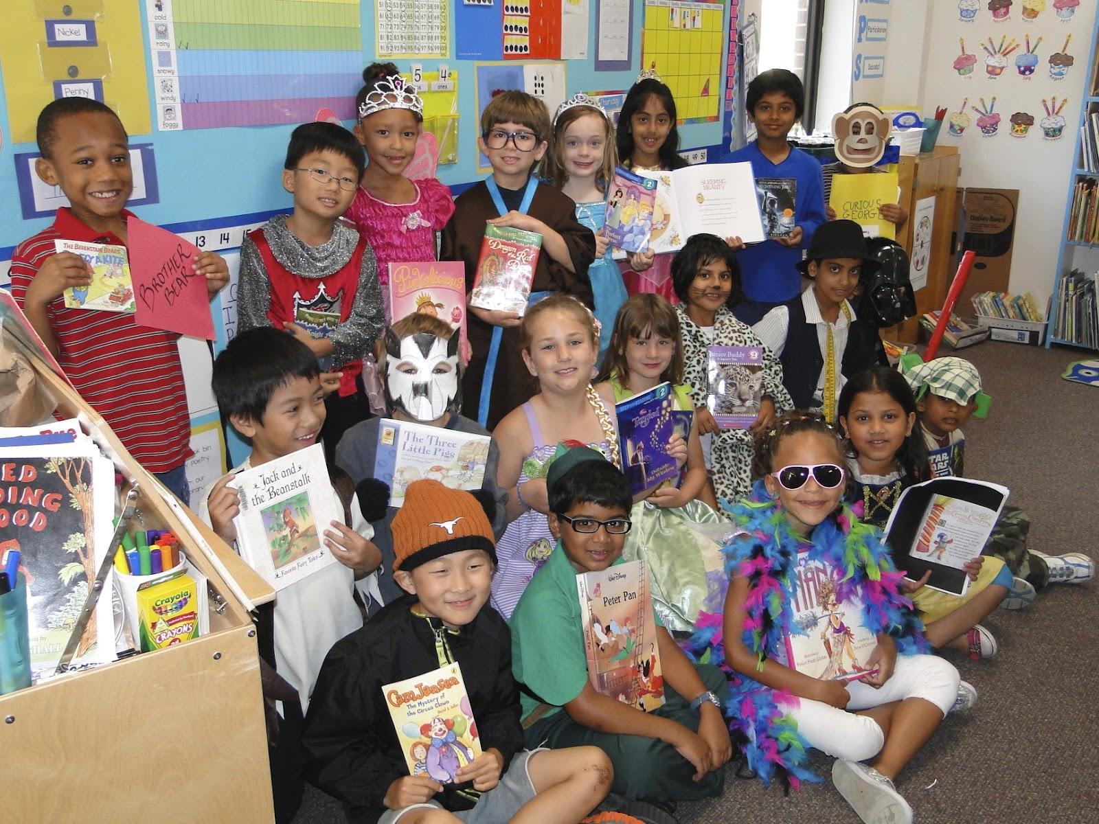 Mrs Weegar S First Grade Storybook Character Parade