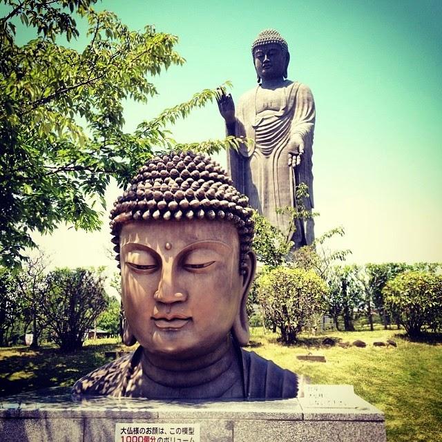 Ushiku Daibutsu Buddha.