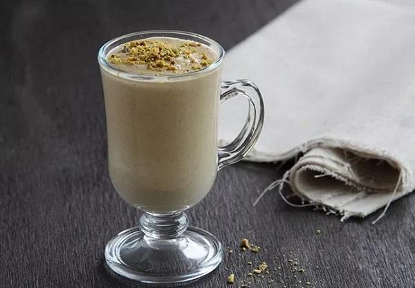 How to make hot pistachio milk