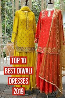 Top 10 Latest Diwali dresses 2019, video, 2019 Diwali dresses
