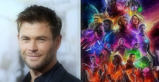 """Chris Hemsworth celebrates as Avengers: Endgame """"becomes the highest-grossing film of all time"""""""
