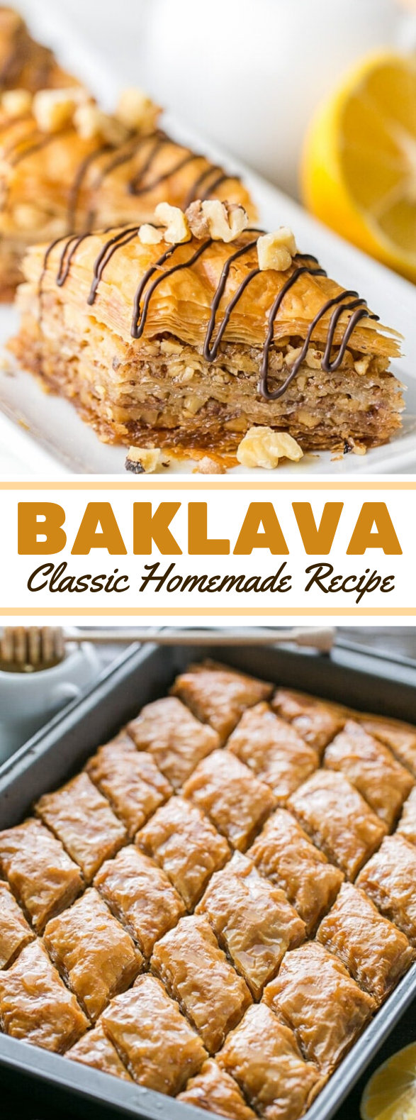 Baklava Recipe #desserts #partyrecipe