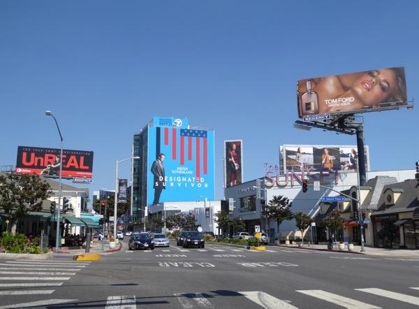 Giant Designated Survivor billboard