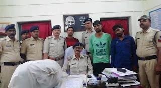 रेलवे जीआरपी पुलिस ने प्लेटफार्म से डोडाचूरा सहित 2 लोगो को पकड़ा