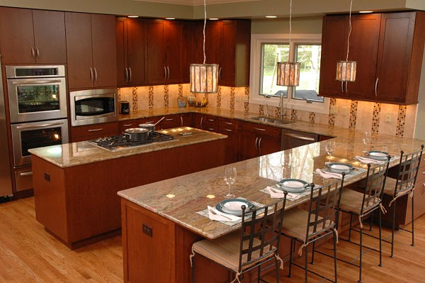 Kitchen Floor Plans With Islands Inspiration Home Decor