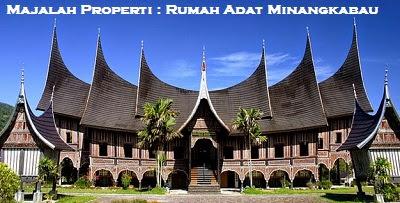 Desain Bentuk Rumah Adat Minangkabau dan Penjelasannya, Rumah Adat Padang
