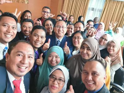 Kenangan indah ikon pendidikan Malaysia dengan mantan KPPM, Datuk Amin Senin