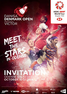 Live Streaming Danisa Denmark Open 2018
