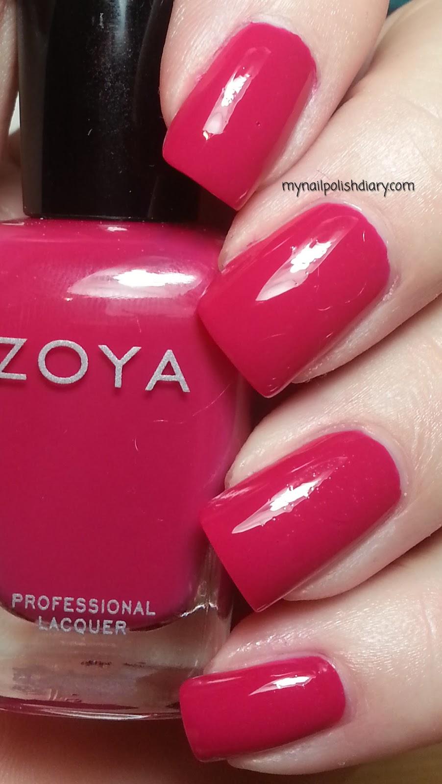 My Nail Polish Diary Zoya Dita