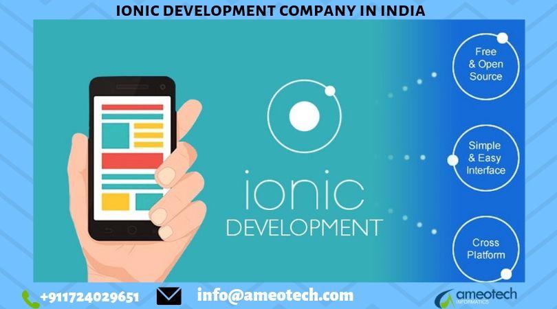 Ionic Development Company in India